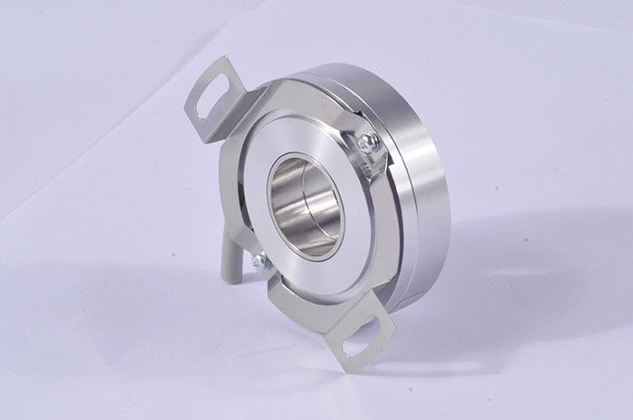 Hollow Shaft Heavy Duty Encoder K58 , Photoelectric Rotary Encoder 7200 Ppr Dc 8 - 30v